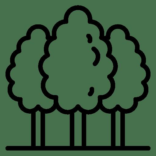 Areas verdes - icono